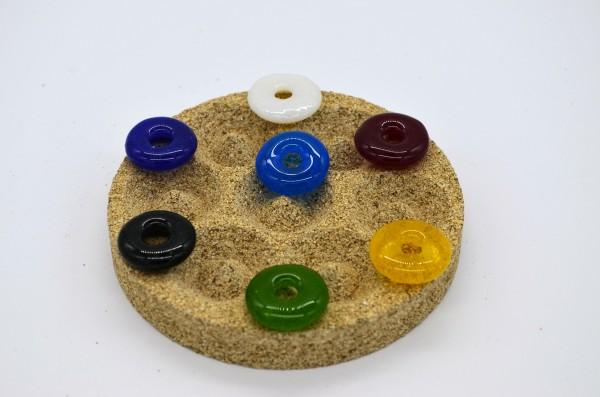 Vermiculiteform sieben Ringe