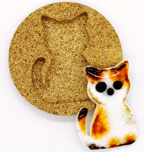 Vermiculiteform Katze