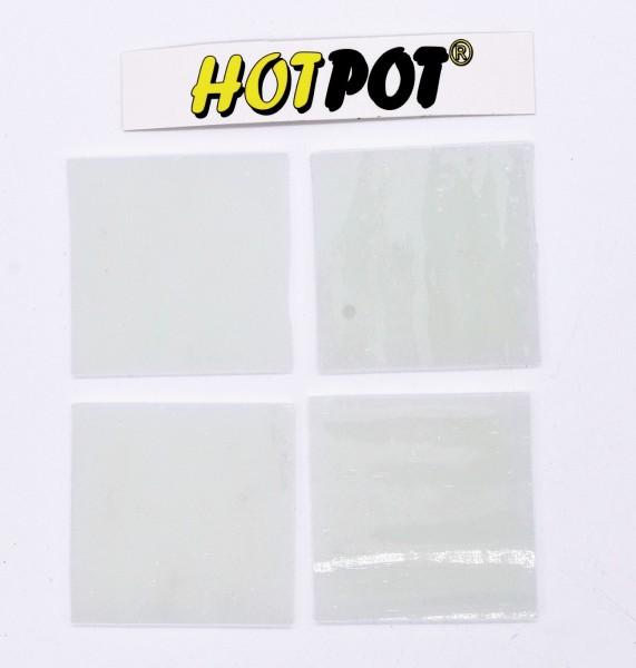 Quadrat, weiß, 5,5cm