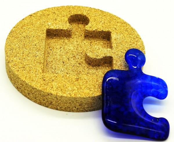 Vermiculiteform Puzzleteil