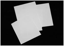 Fusing papier (Bullseye) 75 x 75mm (10 Stück)