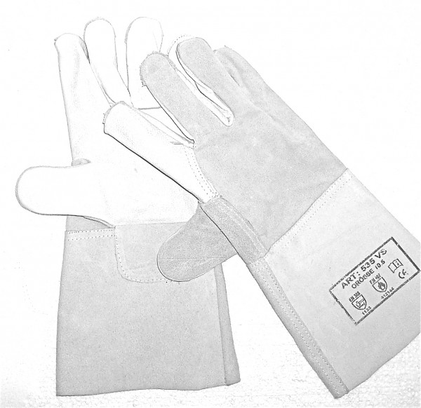 Lederhandschuhe, Größe 10