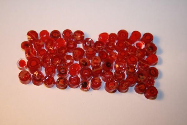 Millefiori Basic Rainbow - Red 50g, COE 90