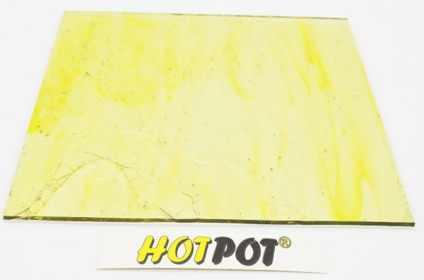 Glas, transparent gelb, 3mm KOE 90 (200x180mm)