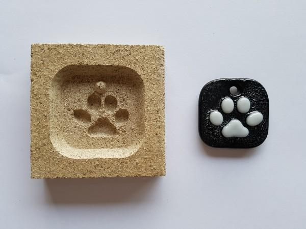 Vermiculiteform Pfote