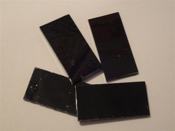 Rechteck, schwarz, 5,5cm