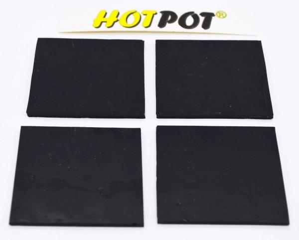 Quadrat, schwarz, 5,5cm