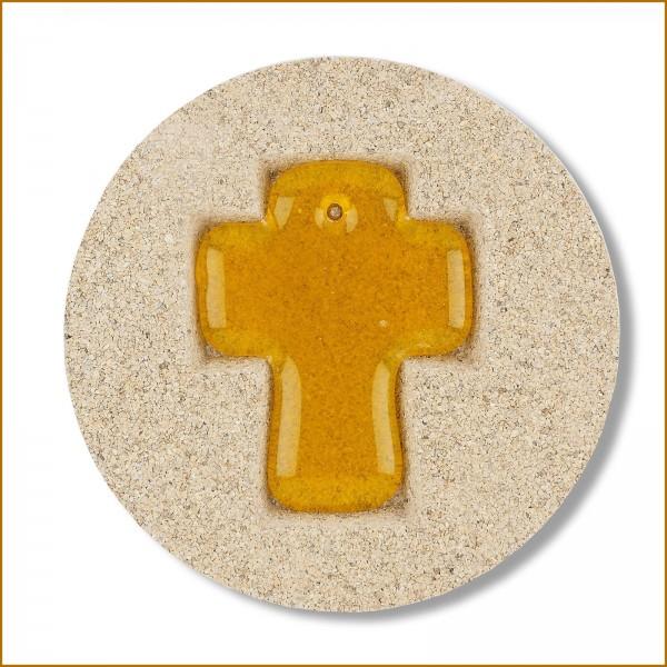 Vermiculiteform Kreuz