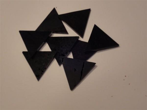 Dreieck, schwarz, 3,5cm
