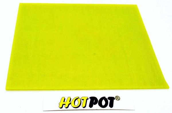 Glas,Opal gelb 3mm KOE 90 (200x180mm)