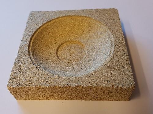 Vermiculiteform Teebeutelteller