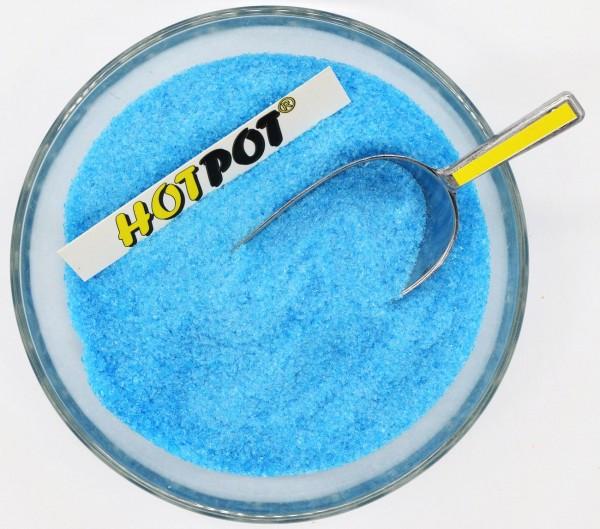Glaskrösel fein 100g türkisblau